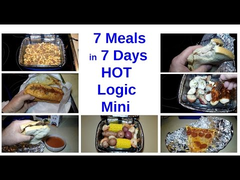 7 Meals In 7 Days With Hot Logic Mini Personal Portable Oven Youtube