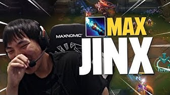 Doublelift - COREJJ APPROVES JINX W MAX