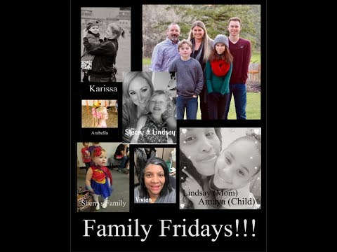 Family Fridays 10 a.m. Pacific Time- LIVE Praying over your pictures