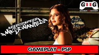Need For Speed: Most Wanted 5-1-0 PSP Gameplay - Gamer To Gamer