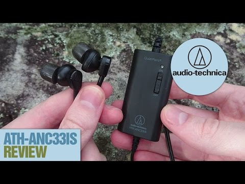 ATH ANC33iS Noise Cancelling Earphones Review