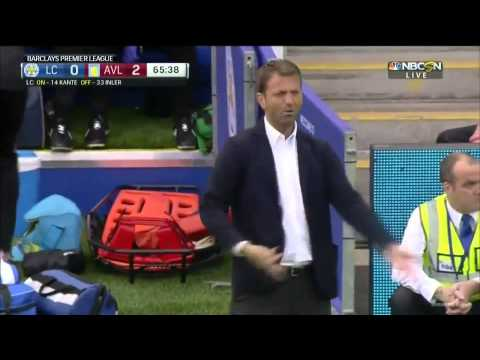 Tim Sherwood touchline v Leicester City