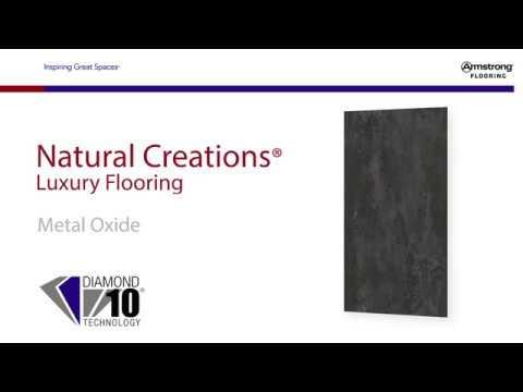 Natural Creations Luxury Flooring in Metal Oxide