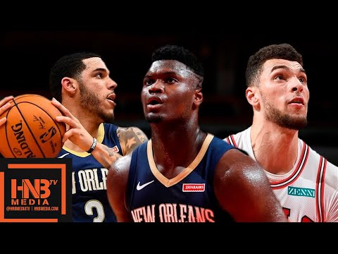 Chicago Bulls vs New Orleans Pelicans - Full Game Highlights | October 9, 2019 NBA Preseason