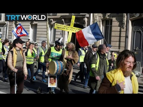 French unions strike against Macron's policies | Money Talks