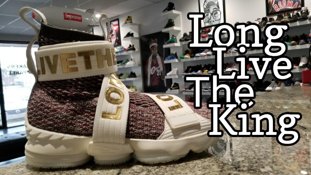 KITH x Nike LeBron XV