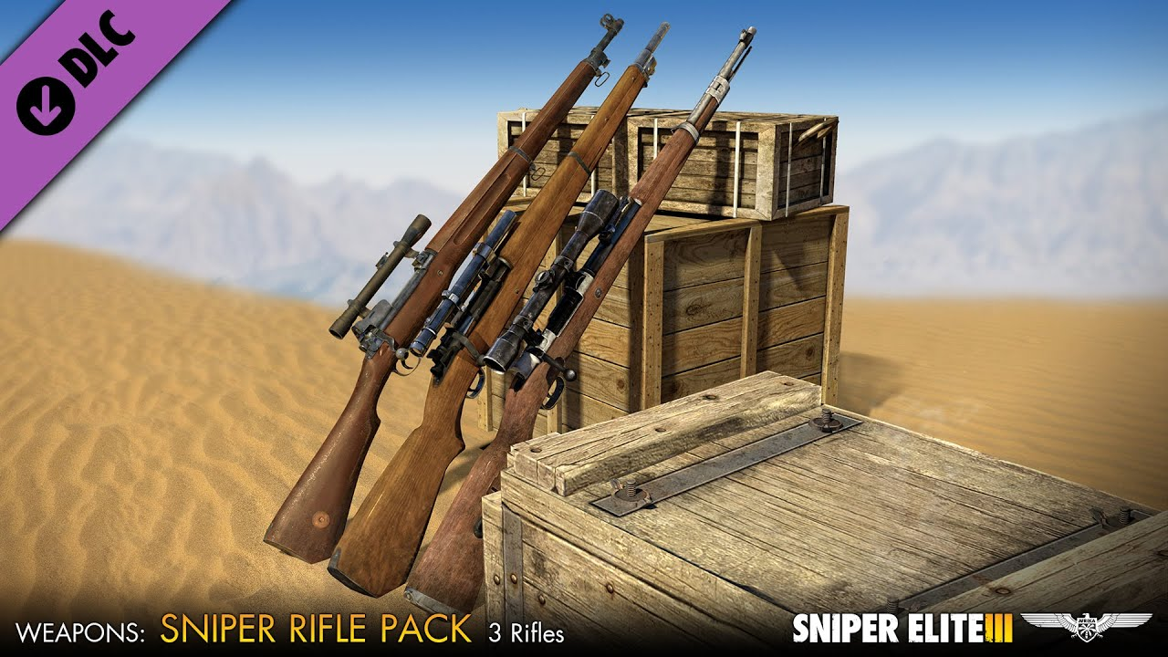 Sniper Elite 3 Sniper Rifles Pack Dlc Gameplay
