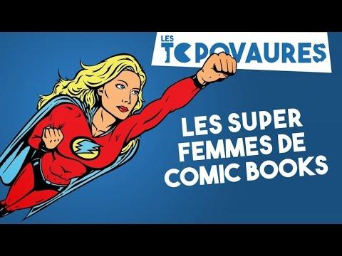 5 super femmes de comic books - Les Topovaures #9