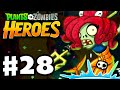 Plants vs. Zombies: Heroes - Gameplay Walkthrough Part 28 - She Came from the Sea! (iOS, Android)