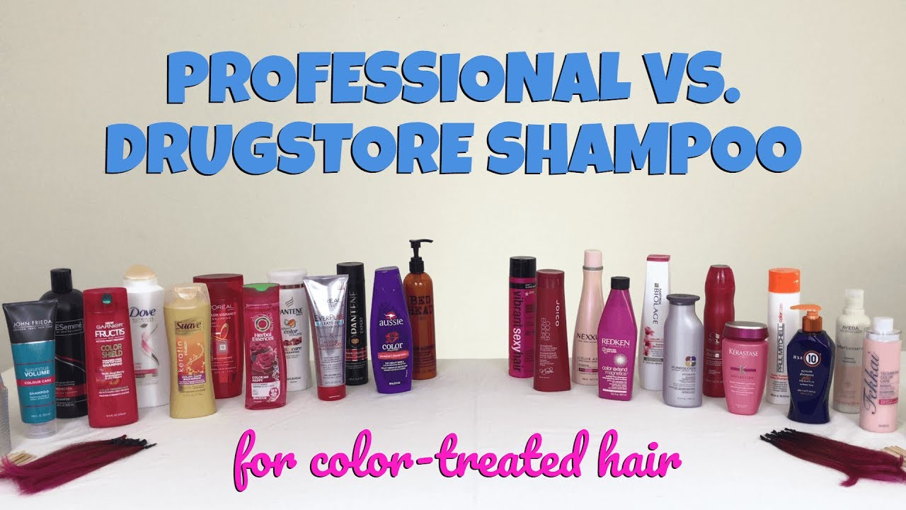 Best Shampoo for Color-Treated Hair