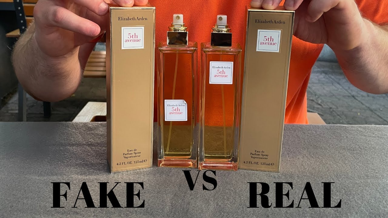 Fake vs Real Elizabeth Arden 5th Avenue Perfume 125 ML