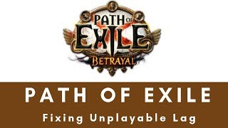 poe betrayal encounters lag video, poe betrayal encounters lag clips