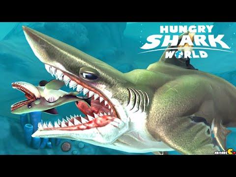 Monster Shark Hunting On Arctic Ocean - Hungry Shark World