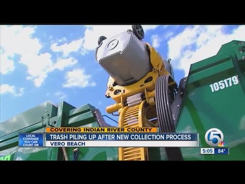Trash Piling Up After New Collection Process in Indian River County
