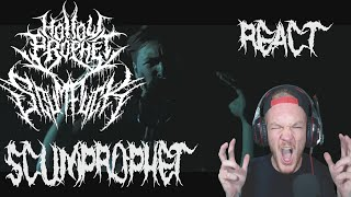 Hollow Prophet/Scumfuck - ScumProphet (Official Music Video) REACT!