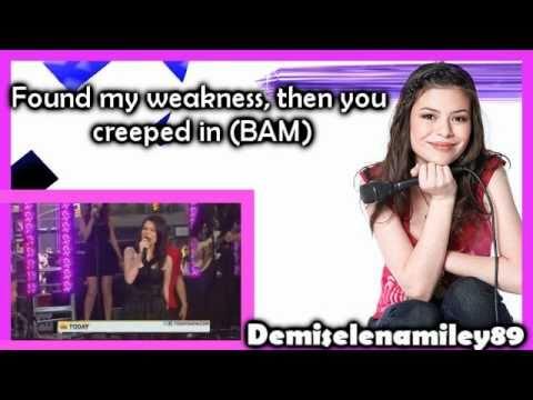 Miranda Cosgrove - BAM (Karaoke)