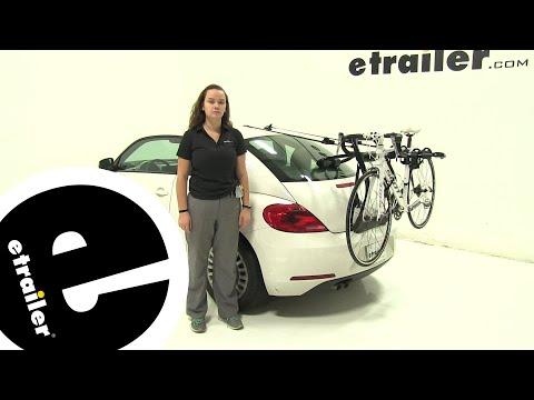 Yakima Trunk Bike Racks Review - 2013 Volkswagen Beetle - etrailer.com