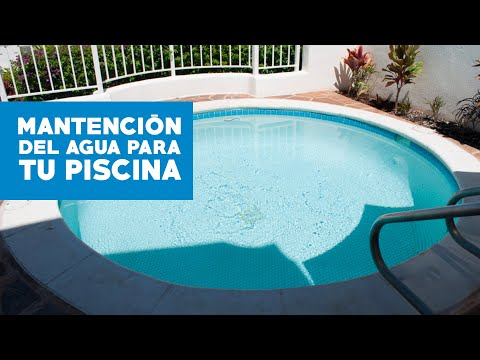 C mo mantener el agua de la piscina youtube for Piscina 6000 litros