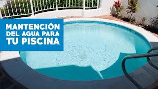 Agua turbia causas y tratamiento viyoutube for Piscina turbia
