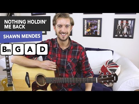 Shawn Mendes - There's Nothing Holdin' Me Back GUITAR LESSON TUTORIAL