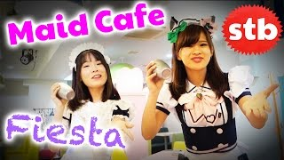 Maid Cafe FIESTA in Tokyo, Japan // Featuring Where's Stu // SoloTravelBlog