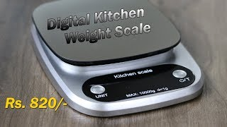 C305 Digital Multifunctional Kitchen Weight Scale Rs. 820 approx