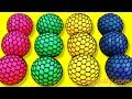 Learn Colors Squishy Balls Surprise baby toys And Super Surprise Egg Kinder Joy Kids Nursery Rhymes