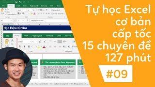 Tự học excel cơ bản | 09 15 Hàm cơ bản cần phải biết trong Excel