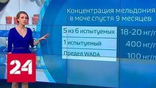 Свойства мельдония: зачем препарат нужен керлингистам - Россия 24