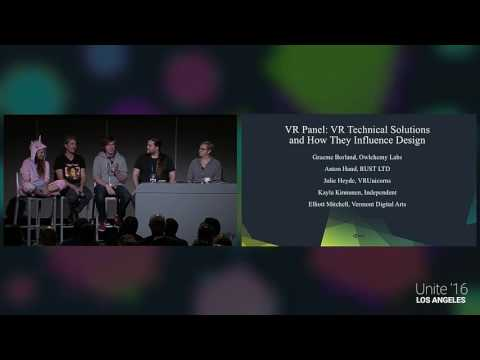 Unite 2016 - VR Technical Solutions and How They Influence Design