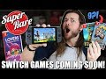 9 Upcoming PHYSICAL Nintendo Switch Super Rare Games!