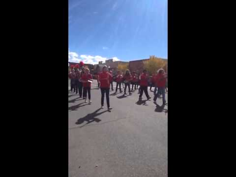 Gunnison middle school marching band homecoming parade 2013
