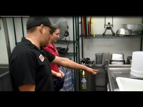 Maricopa County Environmental Services Food Inspection - 2016
