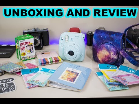 Fuji-film Instax Mini 9 Unboxing and Review!!