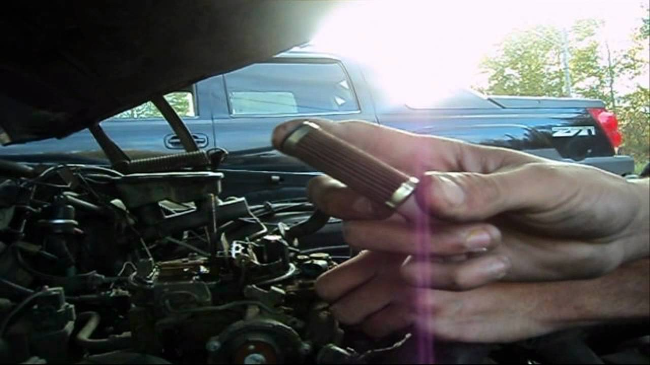 time to change your fuel filter - youtube