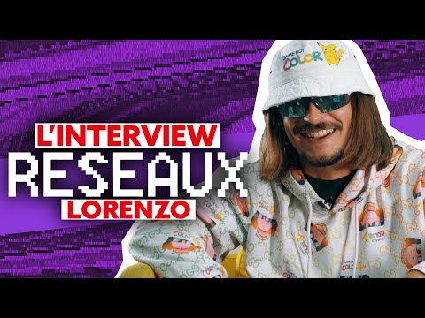 Interview Réseaux Lorenzo : Booba tu stream ? Shay ça match ? Vladimir cauchemar tu follow ?