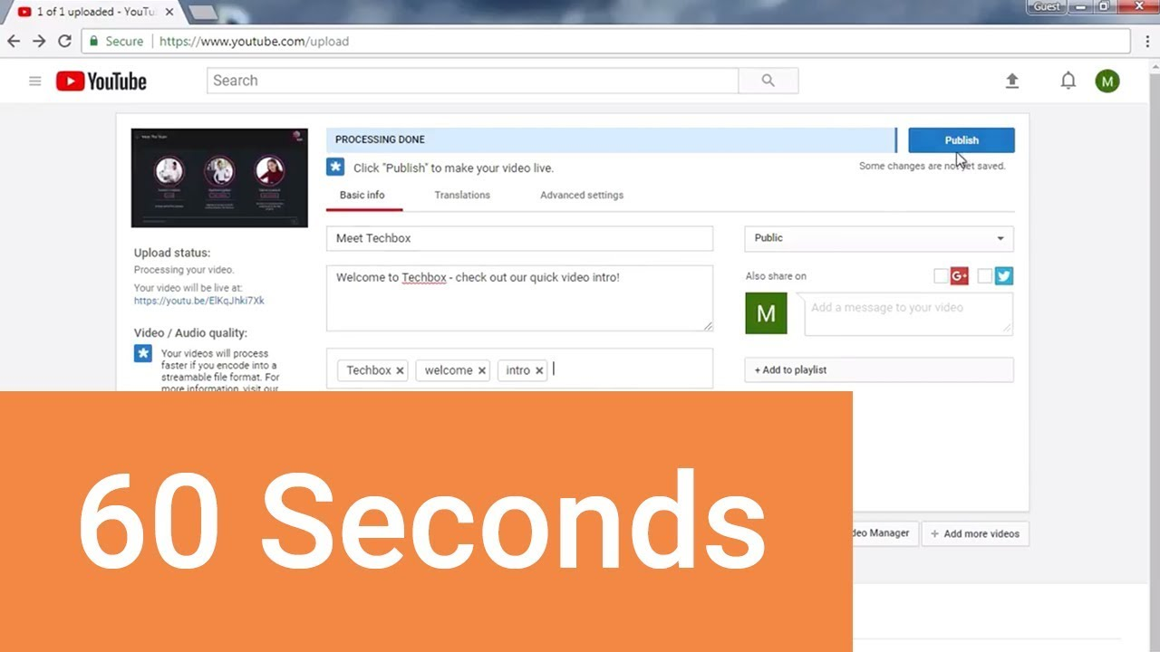 How To Upload A Powerpoint To Youtube Youtube