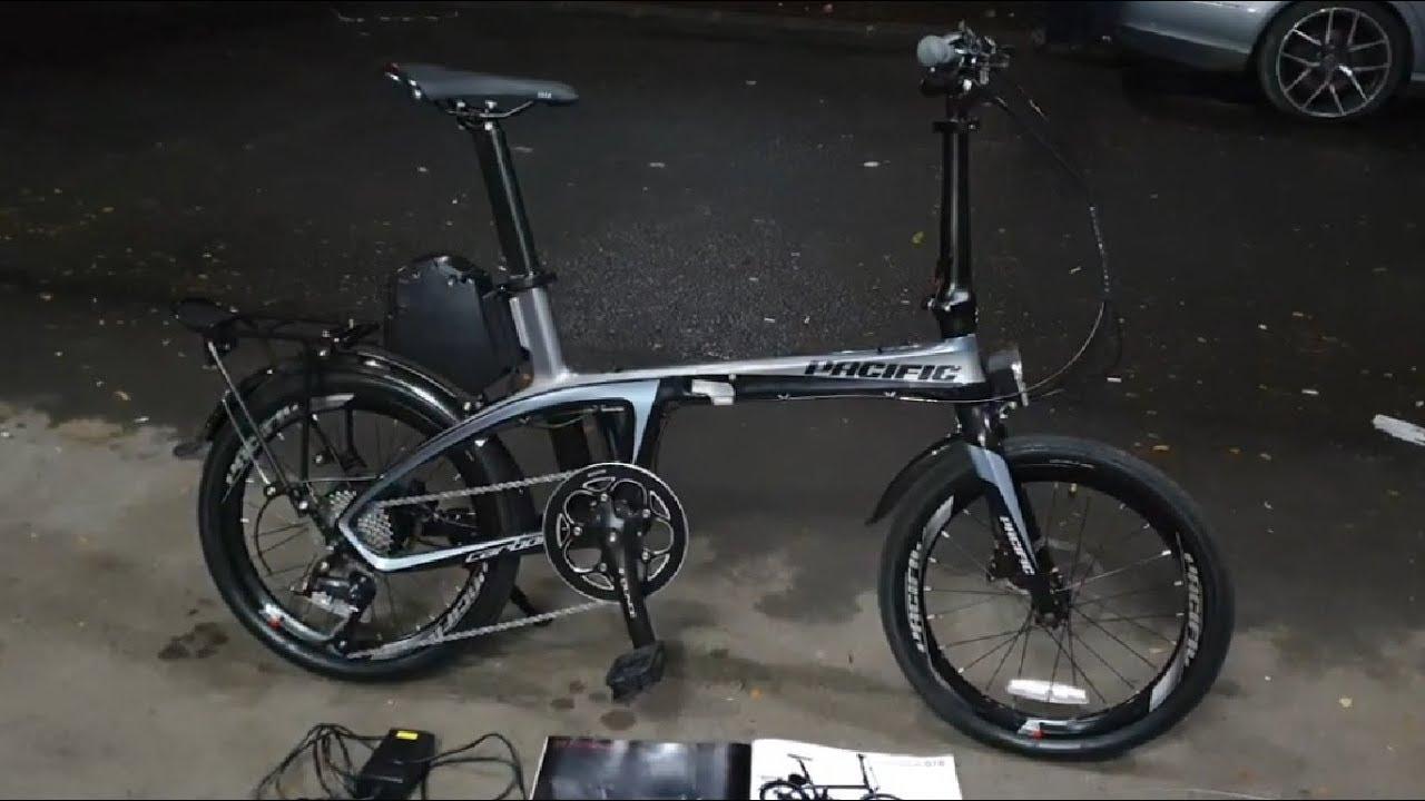 Sepeda Lipat Carbon Ebike Pacific Illution 5.0