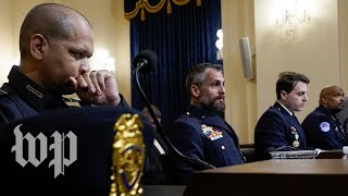 Officers, politicians get emotional in recollection of Jan. 6 Capitol attack