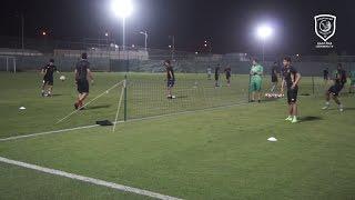 قناة لخويا | تحضيرات الفريق للقاء الريان في نصف نهائي كأس الأمير