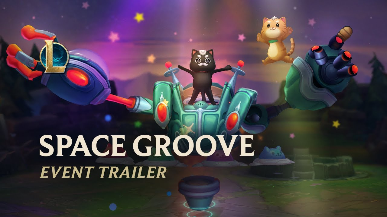 Space Groove 2021 | Official Event Trailer - League of Legends