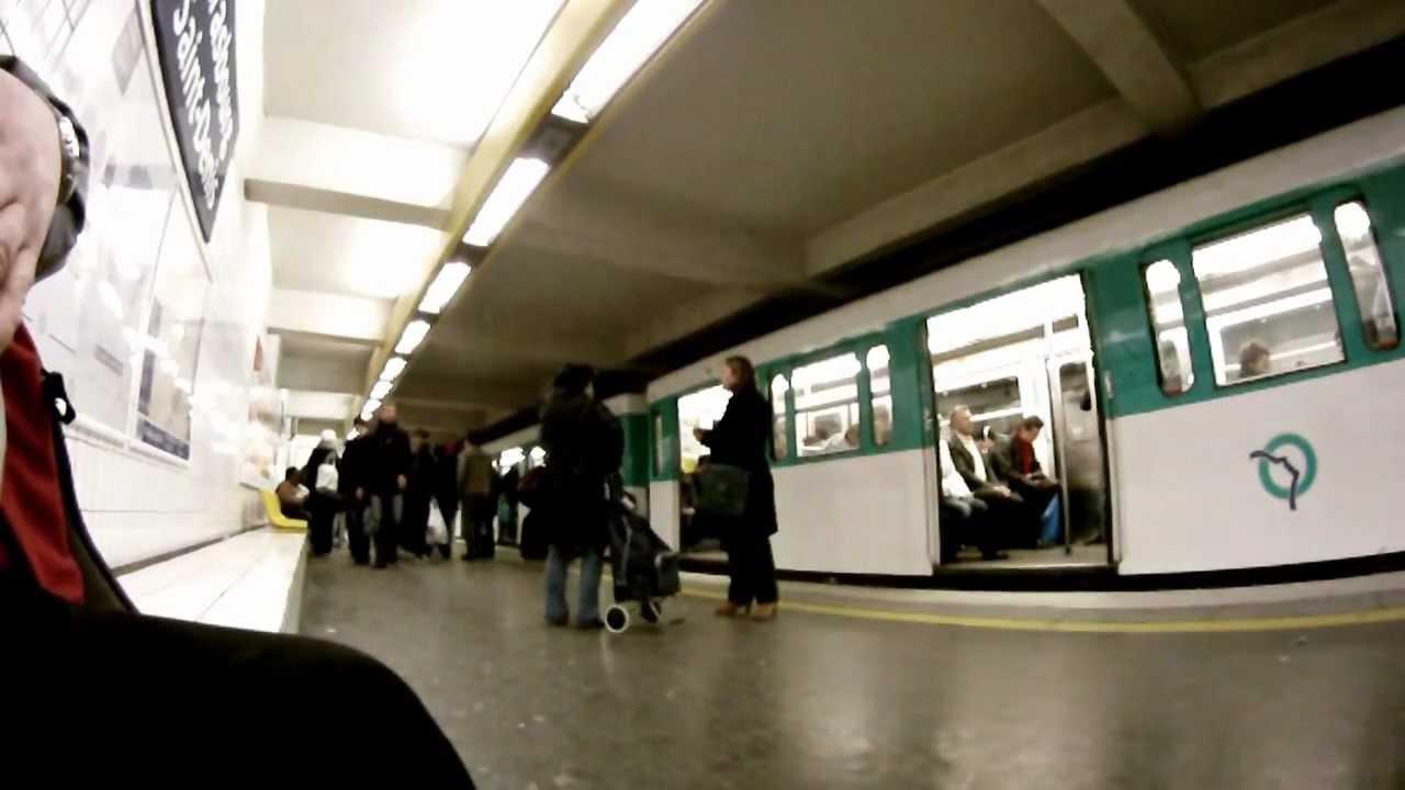 Paris metro ligne 9 strasbourg saint denis youtube - Lidl strasbourg saint denis ...