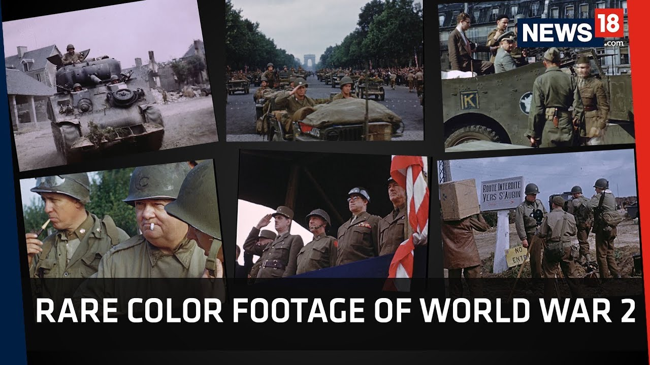 D-Day In Colour   Rare Footage Brings World War 2 Memories Alive