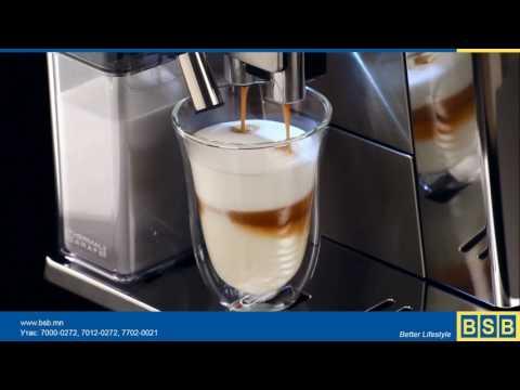 Ганцхан товчлуур дараад л өөрийн дуртай кофег сонгон уух боломжтой боллоо. Delonghi Primadonna Elite