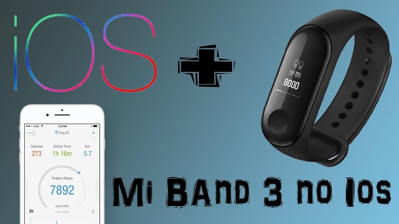 mi band 3 iphone