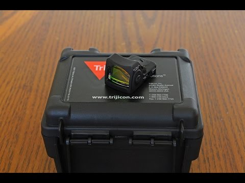 Review: Trijicon RM07, RMR Sight