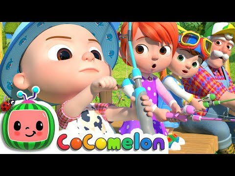 1, 2, 3, 4, 5, Once I Caught A Fish Alive! | CoComelon Nursery Rhymes & Kids Songs