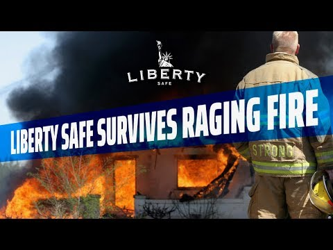 Liberty Safe Survives a Raging Garage Fire