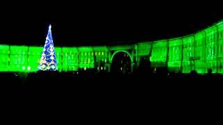 Лазерное шоу Санкт Петербург. Дворцовая площадь.