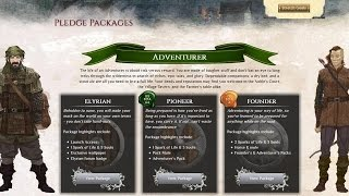 Pledge Paket, Adventurer | Chronicles of Elyria Deutsch/German